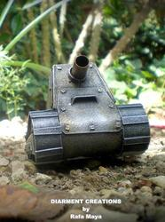 Steampunk Tiny Tank Model
