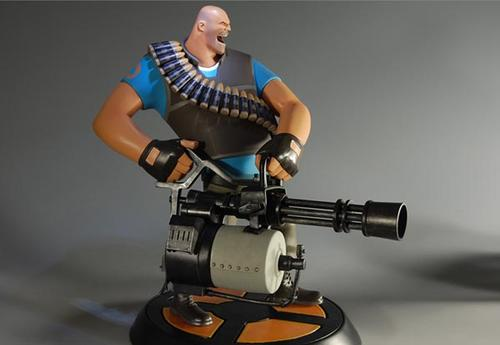 Limited Edition Valve Team Fortress 2 Collectible Figure