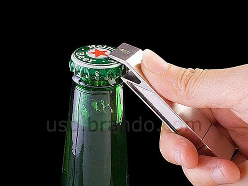Functional USB Flash Drive Doubles As Bottle Opener