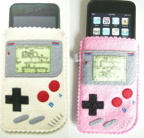 Handmade Game Boy iPhone Case
