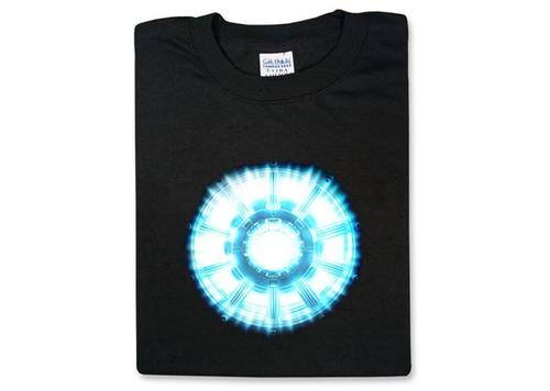 Iron Man 2 Arc Reactor T-shirt for the Long-awaited Tony Stark