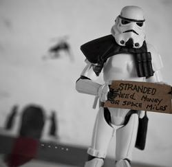 Little Known Life of Stormtroopers and Other Characters from Star Wars