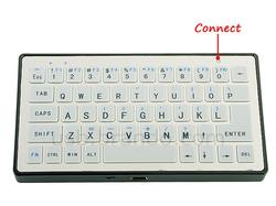 Slim Bluetooth Keyboard for Your iPad