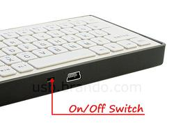 Slim Bluetooth Keyboard for Your iPad