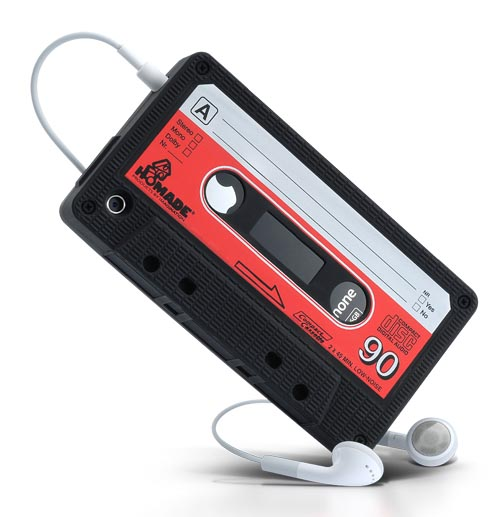 Cassette Shaped iPhone Case Doubled as Stand