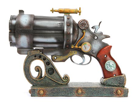 Colonel J. Fizziwig Steampunk Blasters