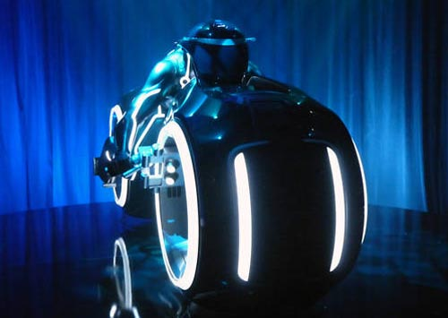 Custom Built Tron Legacy Light Cycle