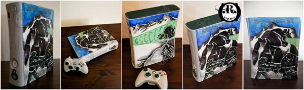 Custom Xbox 360 Game Console by ricepuppet