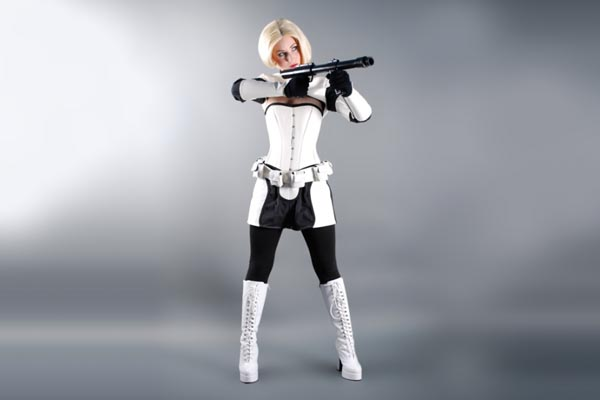 & Darth Vader and Stormtrooper Costumes for Female Fans of Star Wars ...