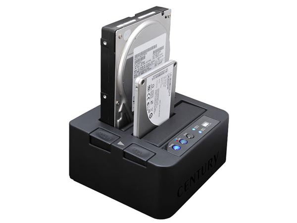 Double eSATA HDD Docking Station