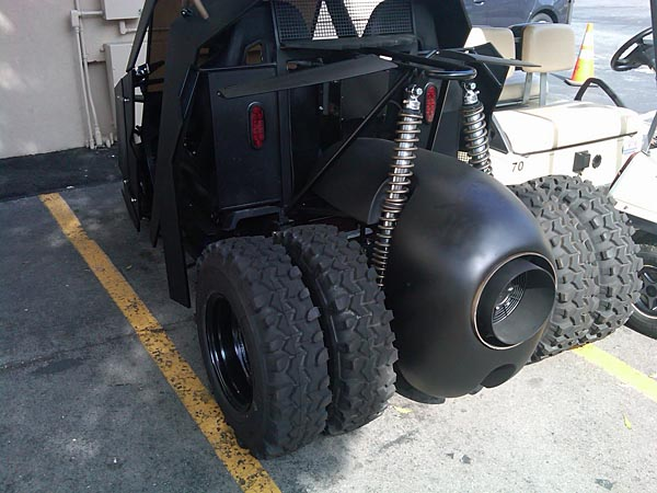 Exclusive Golf Cart for Batman