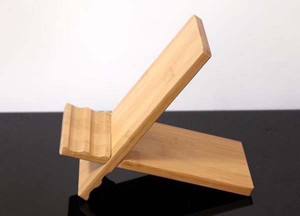 Itu2019s another X-shaped wooden iPad stand . Compared with the former ...
