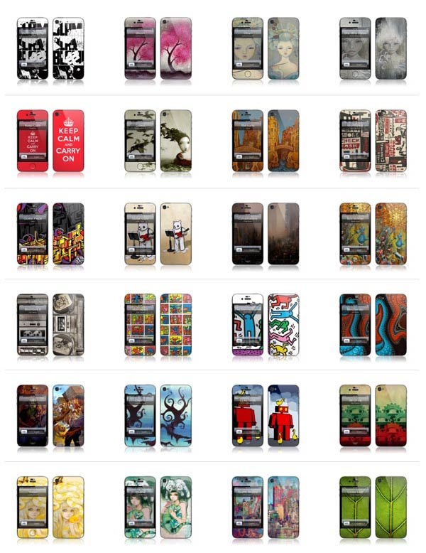 Like previous skins by Gelaskins, all iPhone 4 skins feature 3M technology