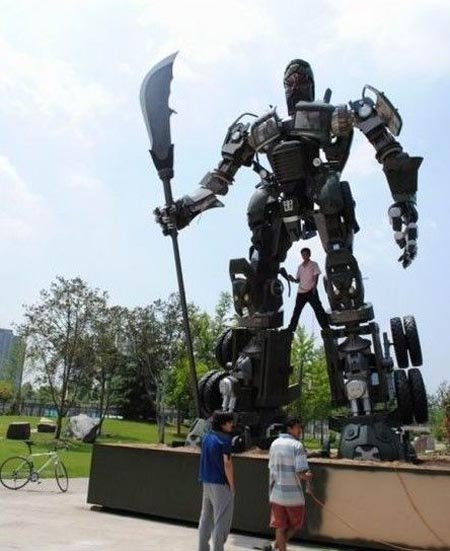 Giant Truck Transformers Autobot From China Gadgetsin