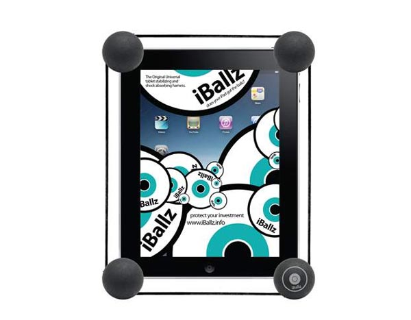 iBallz Ball-Shaped iPad Protector
