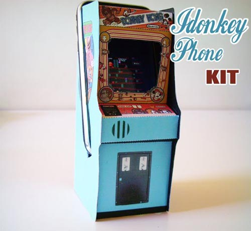 iDonkeyphone Arcade-shaped iPhone Dock