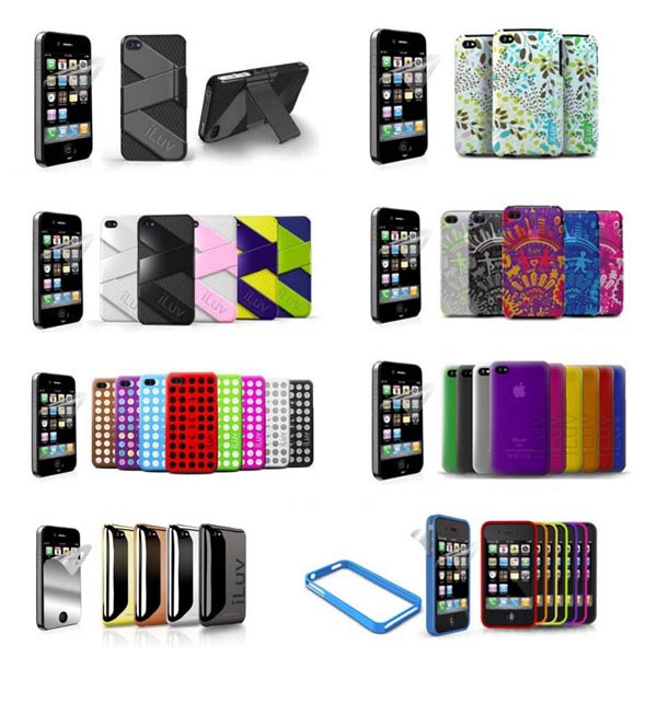 iLuv unveiled fresh iPhone 4 cases and screen protectors