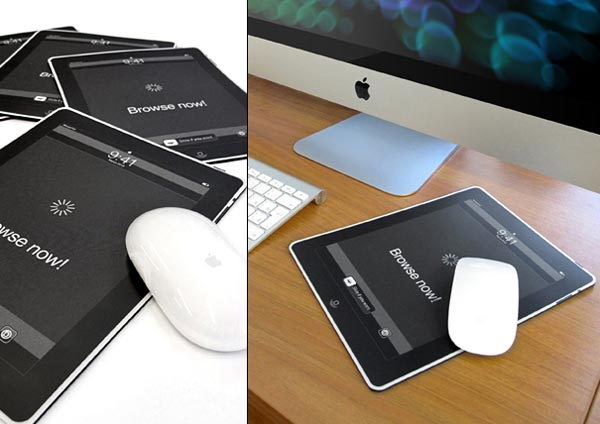 iMousePad Makes the iPad under Your Mouse