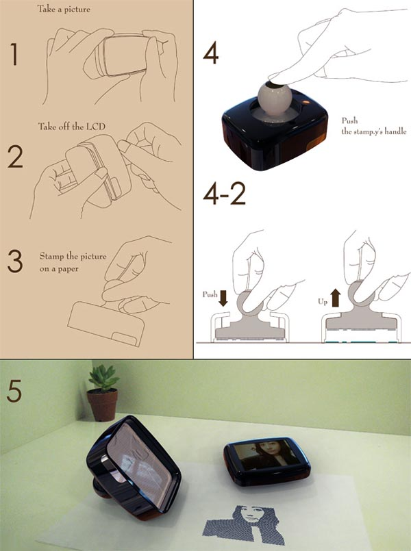 Innovative Digital Rubber Stamp