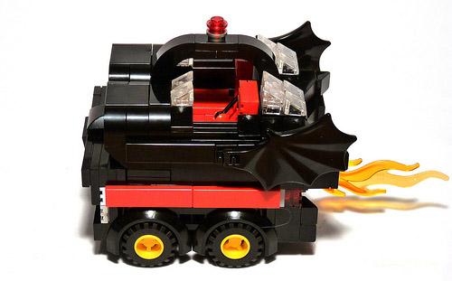 Lego Batmobile Driven By Cubedude Batman Gadgetsin