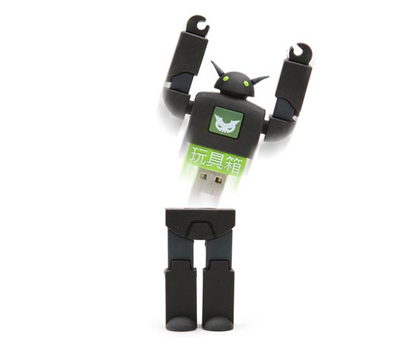 Limited Edition Stealth Robot USB Flash Drive