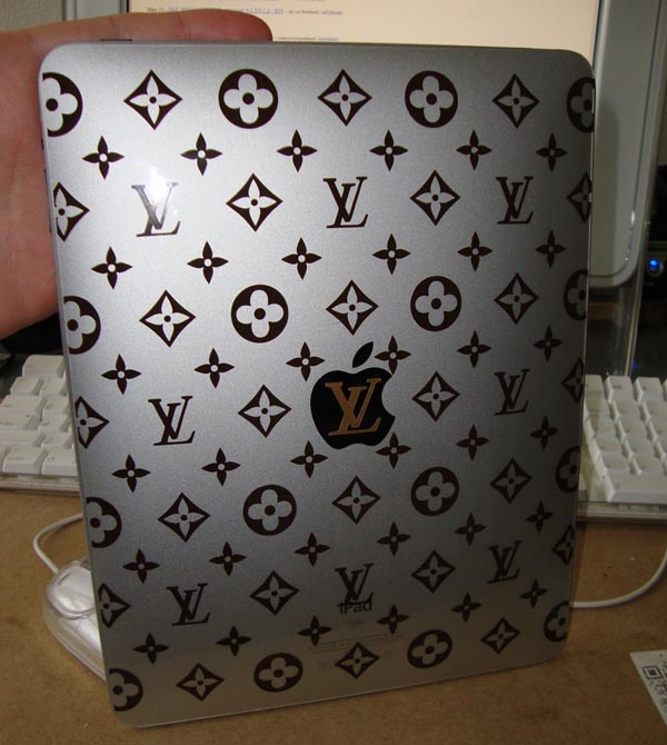 Louis Vuitton Monogram iPad Decal