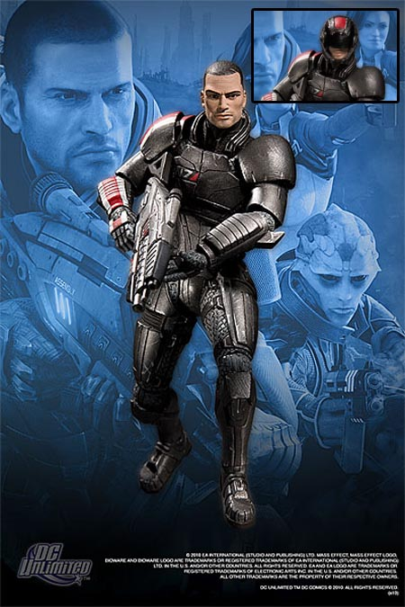 DC Direct Series 1 Mass Effect 2 Action Figures Available for Pre-order