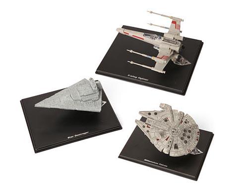 Mini Star Wars Spaceship Models
