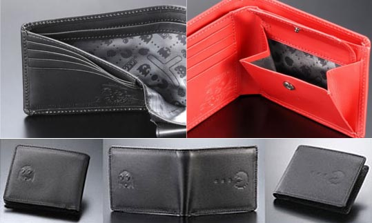 Pac-Man Leather Wallet for Celebrating Its 30th Anniversary