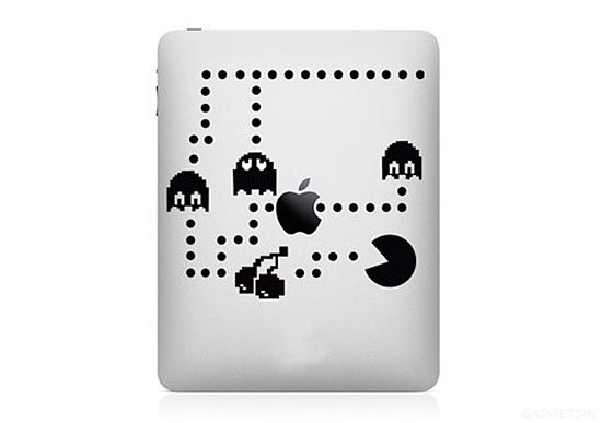 Pacman iPad Decal