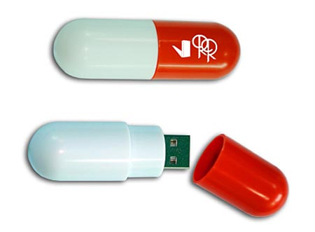 Capsule Shaped USB Drive Holding Rollin Rockers Bang!Bang! Album