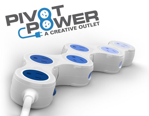 Quirky Pivot Power Creative Outlet