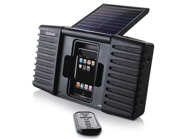 Soulra iPod and iPhone Solar Powered Sound System