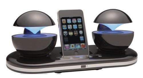 Speakal Icrystal Stereo Ipod Docking Station Gadgetsin