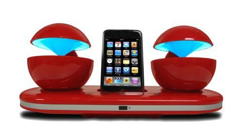 Speakal iCrystal Stereo iPod Docking Station | Gadgetsin
