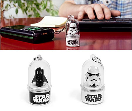 Stormtrooper and Darth Vader Phone Flashers