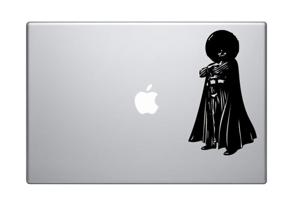 Stylish Darth Vader MacBook Sticker