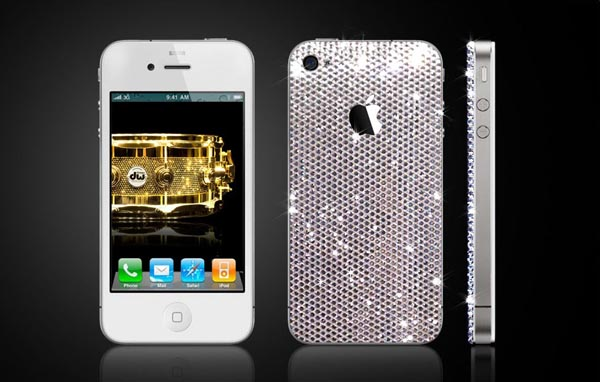 Swarovski Crystals iPhone 4 Cover by CrystalRoc
