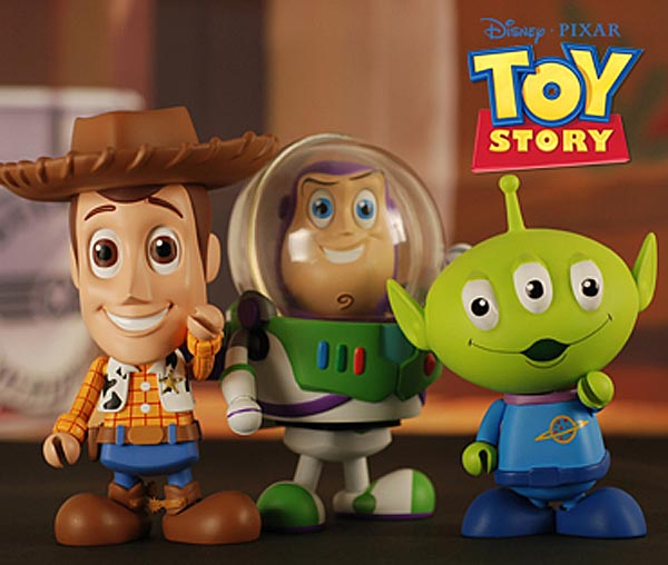 Toy Story 3 Cosbaby Mini Action Figure Series