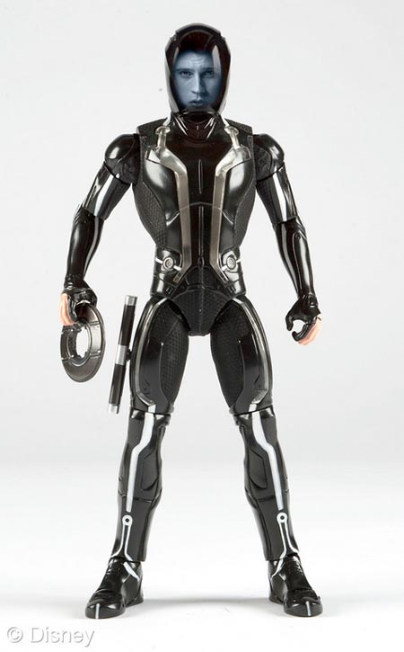 Tron Legacy Action Figures And Remote Control Light Cycle