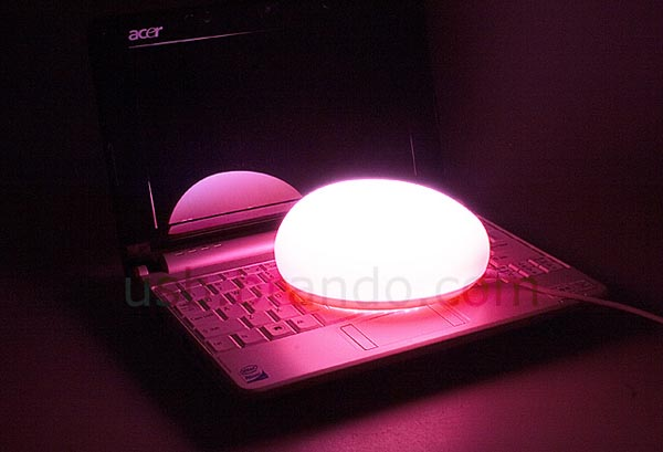 USB Mouse Shaped Touch Lamp