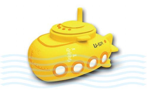 Yellow Submarine Shaped Waterproof Radio