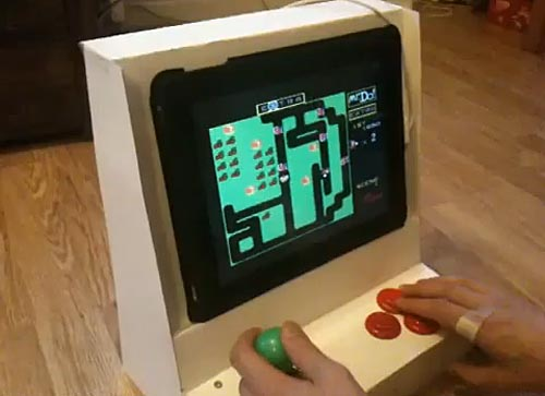 Yet Another iPad Arcade Cabinet