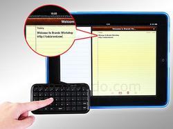 Palm-Size Wireless Bluetooth Keyboard