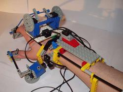 LEGO RC Robot Hand with Exoskeletal Controller