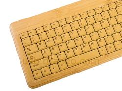 Bamboo Wood USB Keyboard and Mouse