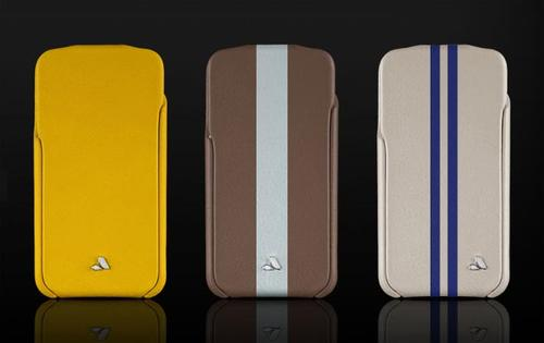 Vaja Unveiled iPhone 4 Leather Case