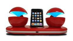 Speakal iCrystal Stereo iPod Docking Station