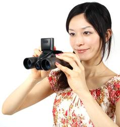 Thanko Digital Camera Binoculars Not Only for World Cup Fans
