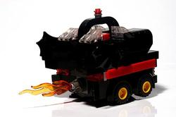 LEGO Batmobile Driven by CubeDude Batman